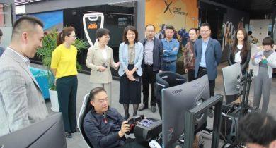 上海市文旅局领导一行莅临锐客视察,聆听体育电竞发展现状并提出指导意见