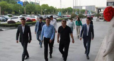 内蒙古乌海市副市长武也文一行来访锐客,双方签署合作协议
